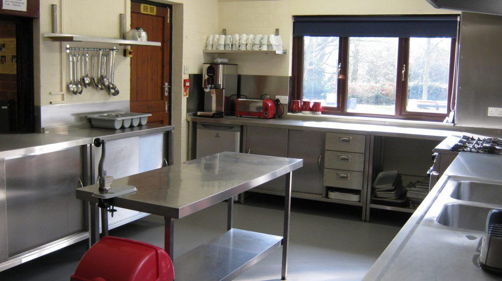 Kitchen refit - Patteston Lodge Activity Centre